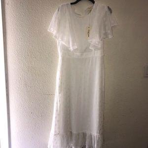 Orange Creek White Maxi Dress